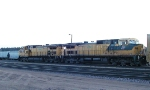 CNW 8646 & 8701 at Altoona Wisconsin early morning